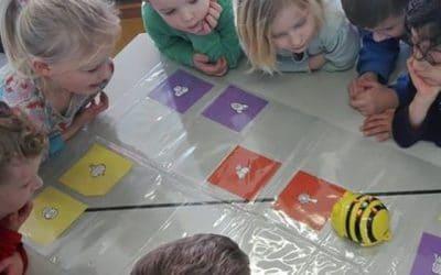 Bee-Bot voor de kleuters De Wieken