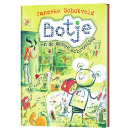 Botje en de zeven schroefjes - Janneke Schotveld, boeken over robots en technologie