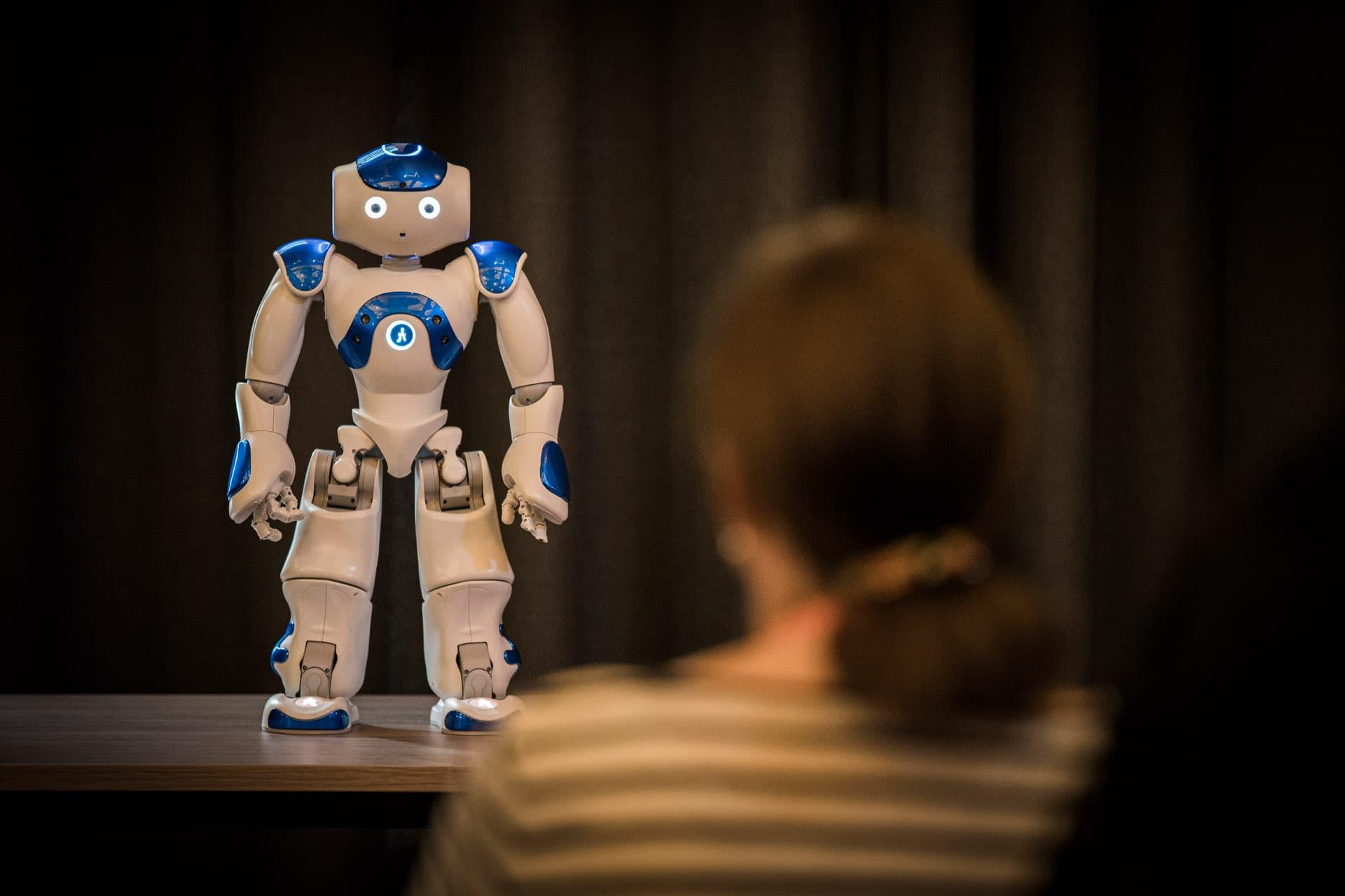 Een robot in de klas