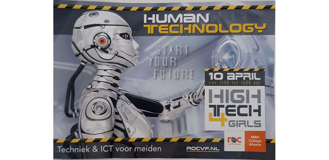 HighTech 4 Girls | MBO College Almere