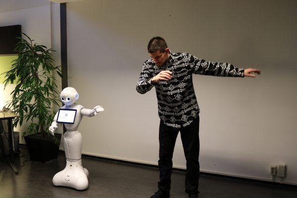 Robot dansworkshop