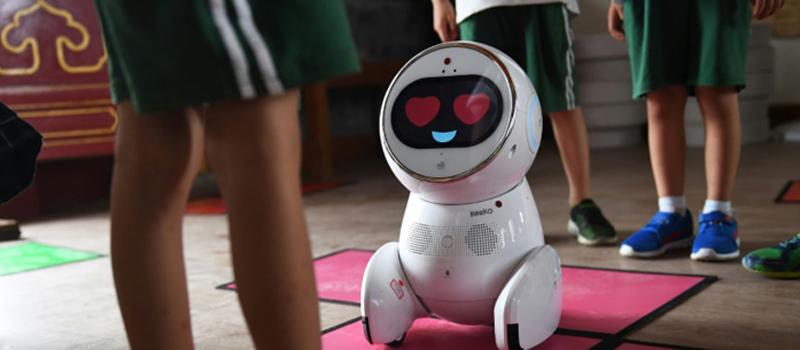 Keeko-robot op basisscholen in China