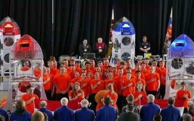 Nederlandse studenten winnen First Robotics-wereldkampioenschap