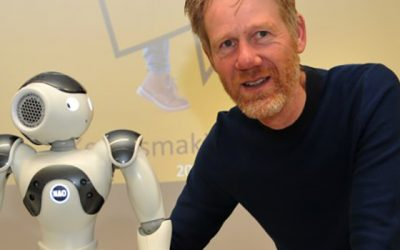 Onderwijsrobot op het Raayland College