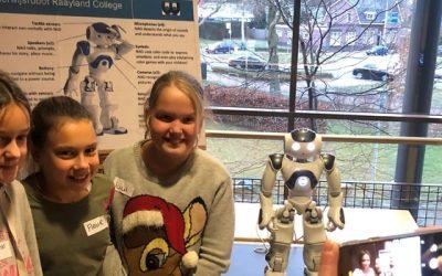 Onderwijsrobot voor het Raayland College