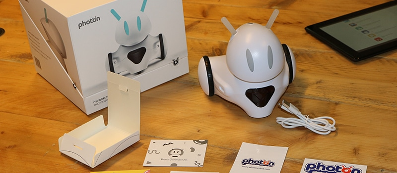 Unboxing Photon robot