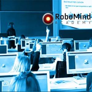 Programmeer een virtuele robot