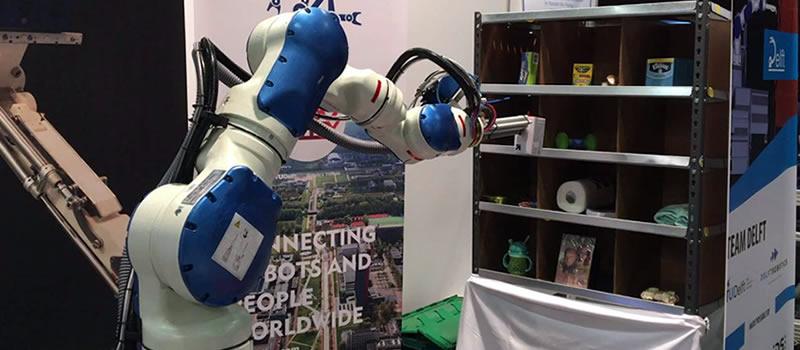 TU Delft wint Amazon robot wedstrijd