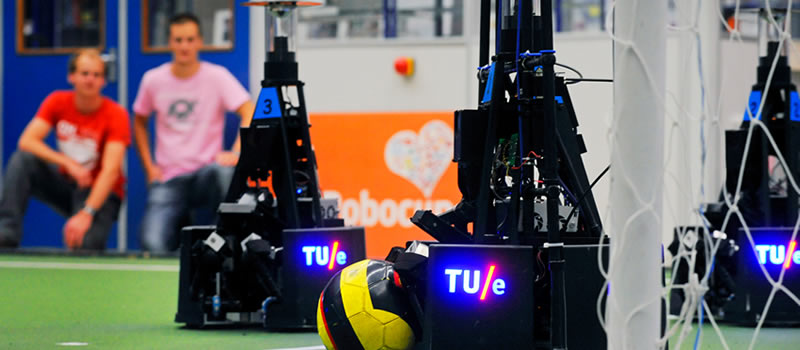 Nederlandse universiteiten succesvol met robots