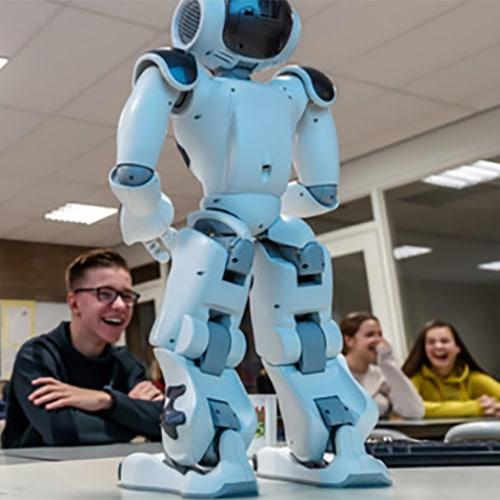 MBO Onderwijs software en apps voor robots