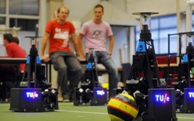 Wereldkampioen-robotvoetbal in Nederland