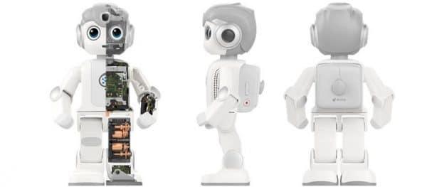 Robot voor het keuzevak zorgtechnologie, Zorgrobot Maatje voor keuzevak zorgtechnologie